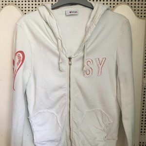 Moschino white jacket activewear
